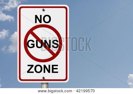 No Guns Zone