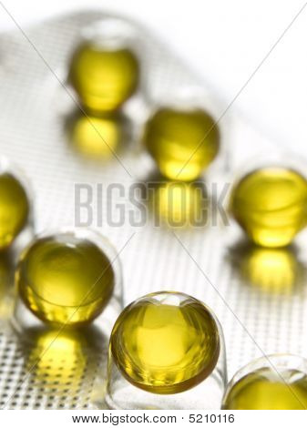 Healthy Yellow Pills