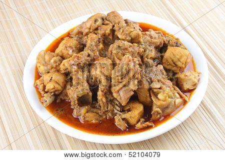 Mutton curry-Asian style meat curry.