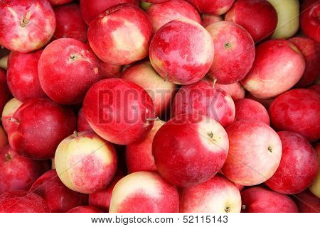 Natural apples