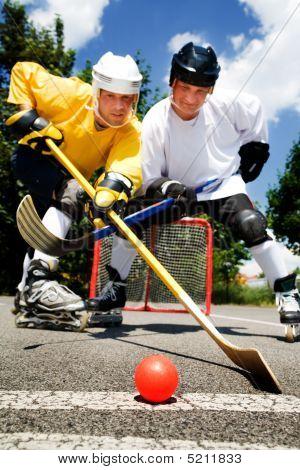 Street Hockey Fight