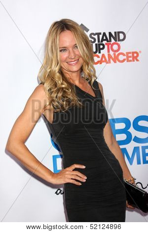LOS ANGELES - OCT 8:  Sharon Case at the CBS Daytime After Dark Event at Comedy Store on October 8, 2013 in West Hollywood, CA
