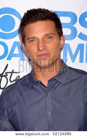 LOS ANGELES - OCT 8:  Steve Burton at the CBS Daytime After Dark Event at Comedy Store on October 8, 2013 in West Hollywood, CA
