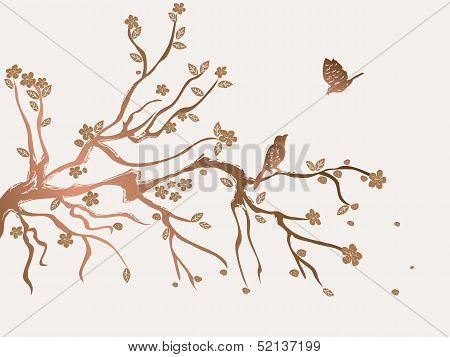 Plum Flowers Blossom