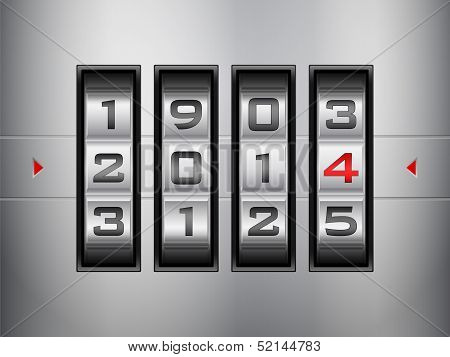 Combination Lock New Year