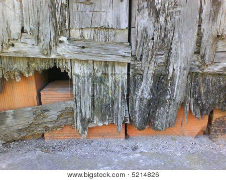 Brick Block And Door