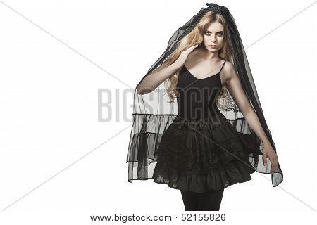 Portrait Of Gothic Bride