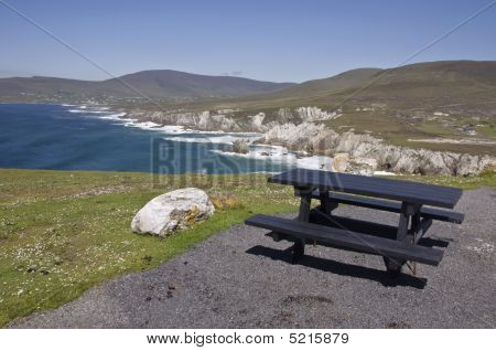 Picnic Table Seascape