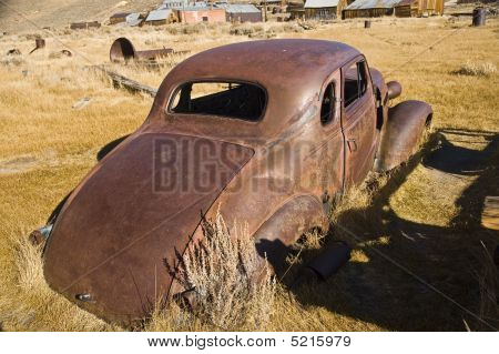 Old Rusty Car Shell