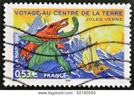 A stamp shows an image of
