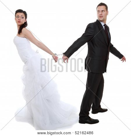 Relationship Concept Couple In Divorce Crisis