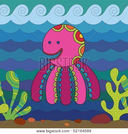 Stylize Octopus