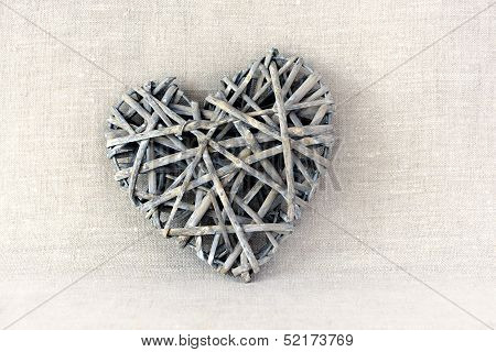 Intricate Wood Heart