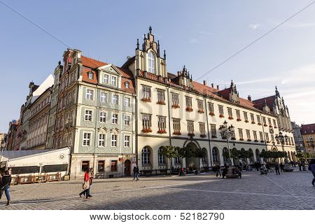 New Town Hall In Wroclaw, Poland