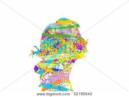 Color Head PNG