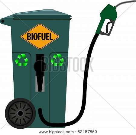 Trash Can As A Pump For Biofuels
