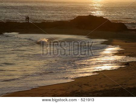 Couple At Seashore
