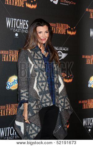 LOS ANGELES - OCT 10:  Ali Landry at the 8th Annual LA Haunted Hayride Premiere Night at Griffith Park on October 10, 2013 in Los Angeles, CA
