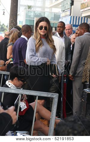 LOS ANGELES - OCT 10:  Khloe Kardashian at the Kenny