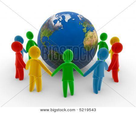Cadena humana global