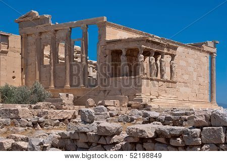 The ruins of the temple of Aphrodite.