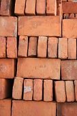 Stacked Adobe Bricks
