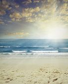 stock photo of shoreline  - Sand - JPG
