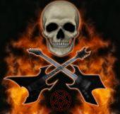 Постер, плакат: Металлические голова