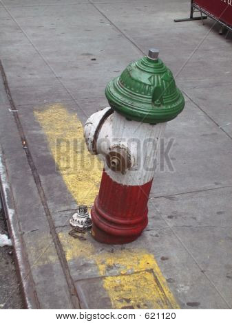 Little Italy Fire Hydrant