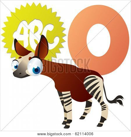 O is for Okapi