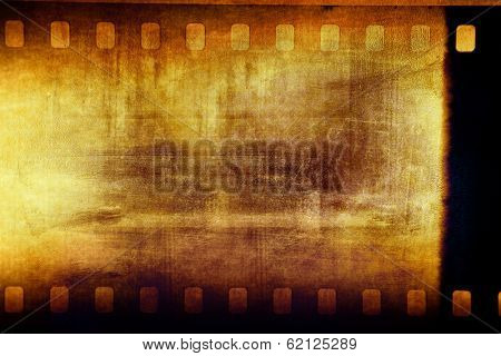 Film negative frame filmstrip background