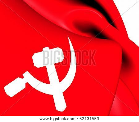 South Asian Communist Flag