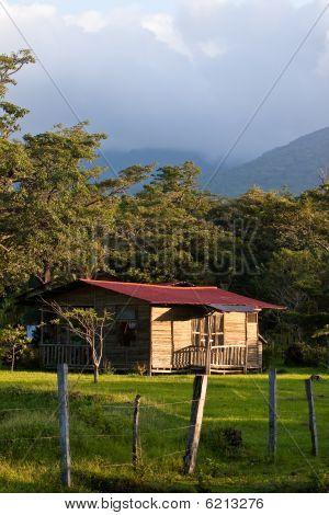 Sleeping Cabin On A Hacienda