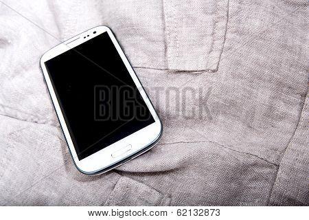 Smartphone On Cloth