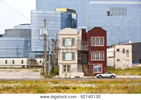 Old Houses And New Casinos In Atlantic City