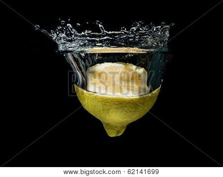 half lemon splash
