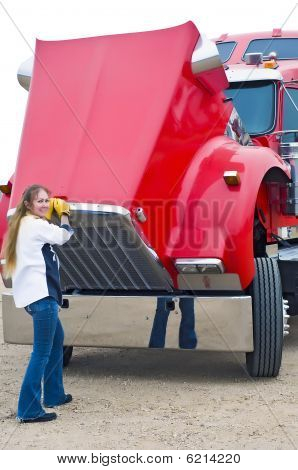 Woman Truck Driver