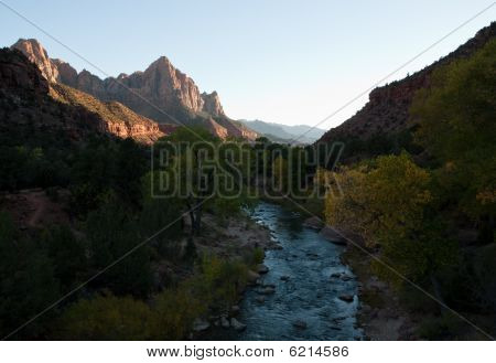 Virgin River Leading To The Watchman