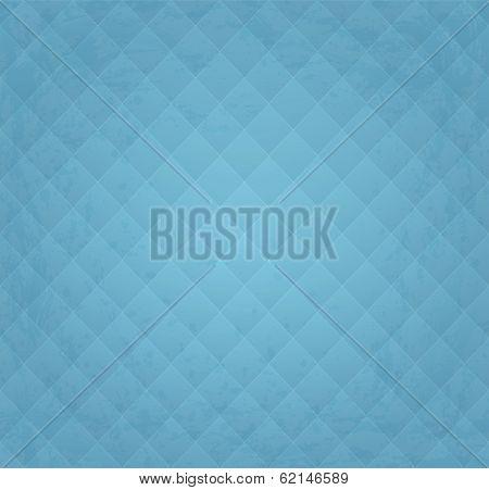 Grunge Textured Blue Vintage Seamless Background Pattern