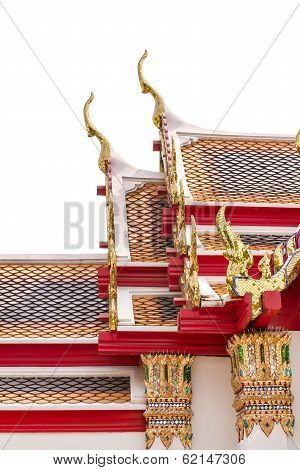 Thai Style Roof With Gable Apex