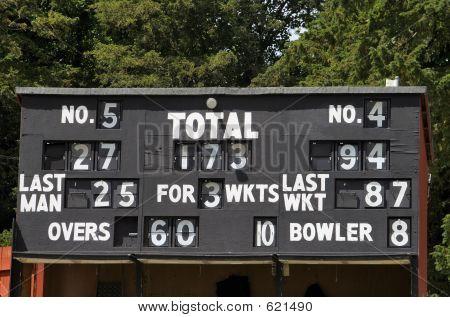 Marcador de Cricket