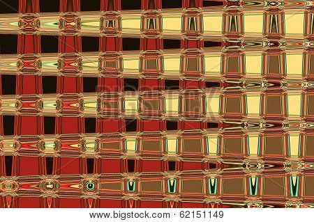Red and Yellow Squares - Beautiful Color Background and Screensaver Patterns