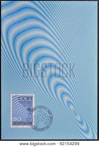 stamp dedicated to anniversary of the International Radio Consultative Committee (CCIR)