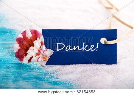 Sea Tag With Danke
