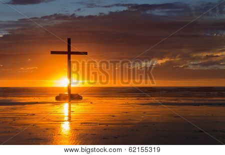 Setting Sun Cross