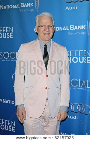 LOS ANGELES - MAR 22: Steve Martin at the Geffen Playhouse's Annual 'Backstage At The Geffen' Gala at Geffen Playhouse on March 22, 2014 in Los Angeles, California