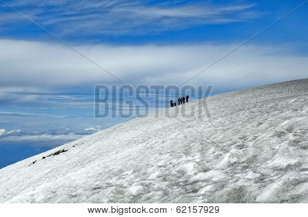 Ascent To The Villarrica Volcano