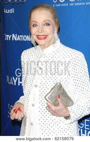LOS ANGELES - MAR 22: Anne Jeffreys at the Geffen Playhouse's Annual 'Backstage At The Geffen' Gala at Geffen Playhouse on March 22, 2014 in Los Angeles, California