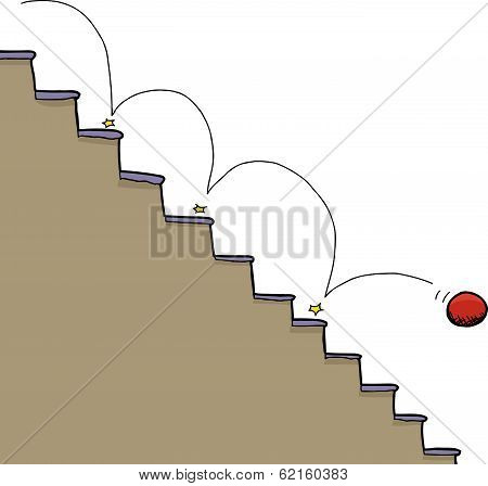 Ball And Staircase