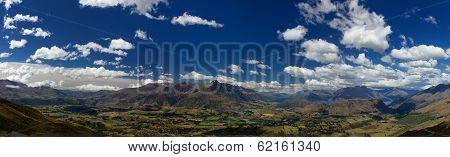 Panoramic view from Coronet Peak, NZ